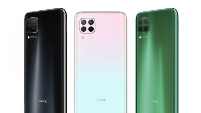 El P40 lite se comercializa en los colores Midnight Black, Sakura Pink y Crush Green.