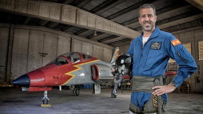 Imagen del comandante del Ejército del Aire Eduardo Fermín Garvalena.