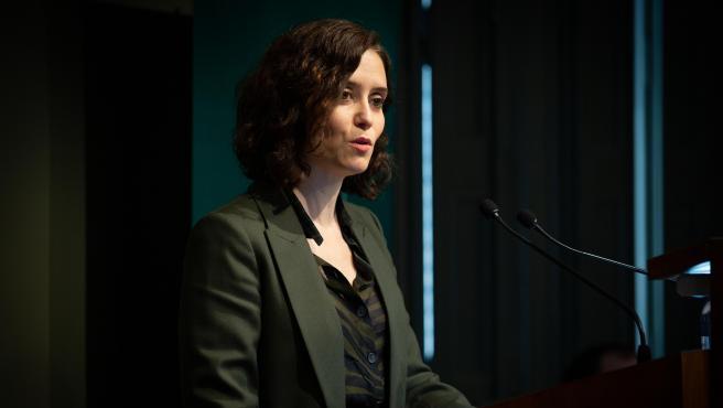 La presidenta de la Comunidad de Madrid, Isabel Díaz Ayuso. Archivo