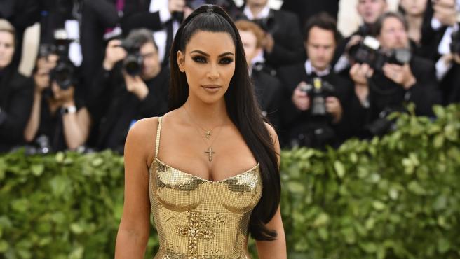 Kim Kardashian en la gala MET del 2018.