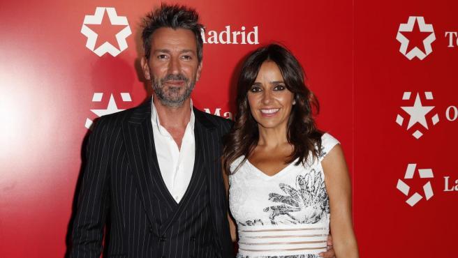 David Valdeperas y Carmen Alcayde.