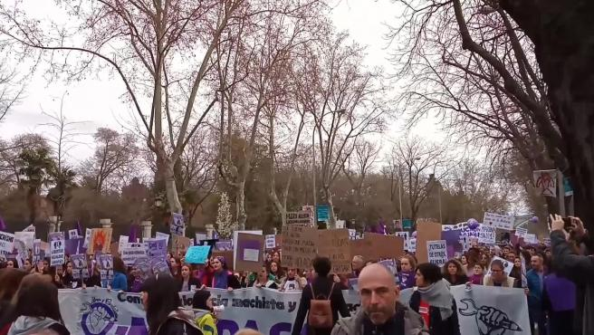 Arranca la manifestación del 8M en Madrid