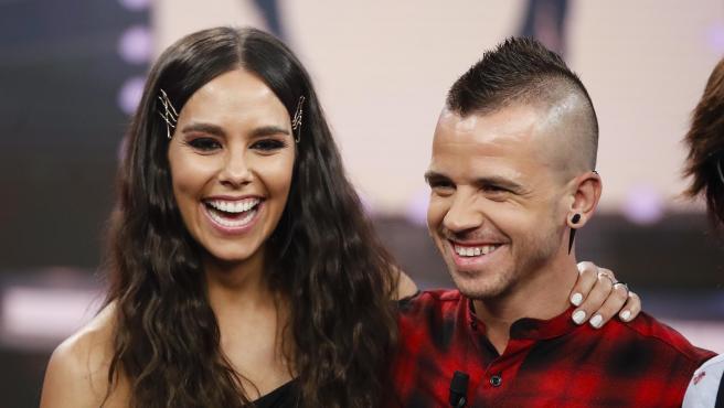 Cristina Pedroche y Dabiz Muñoz, en enero de 2019.