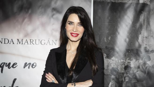 Pilar Rubio, en la presentación de un libro.