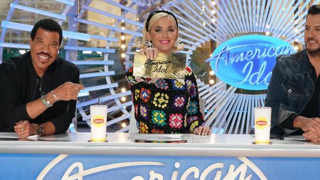 Katy Perry, Lionel Richie y Luke Bryan, en las audiciones de American Idol.