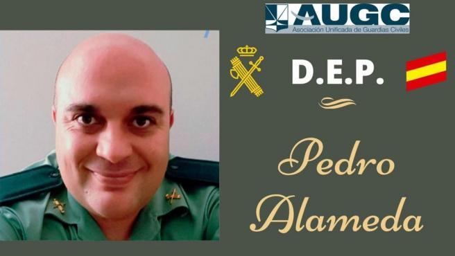 Pedro Alameda, guardia civil muerto con coronavirus.