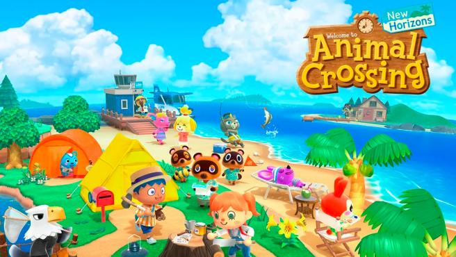 Portada del Animal Crossing New Horizons.