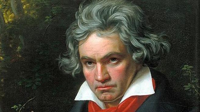 El músico Ludwig van Beethoven.