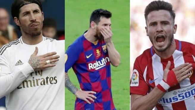 Ramos, Messi y Saúl, entre los deportistas que se han sumado a la causa.