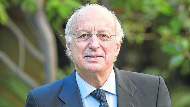 Imagen de archivo de José Luis Aguirre, presidente de Ibercaja.