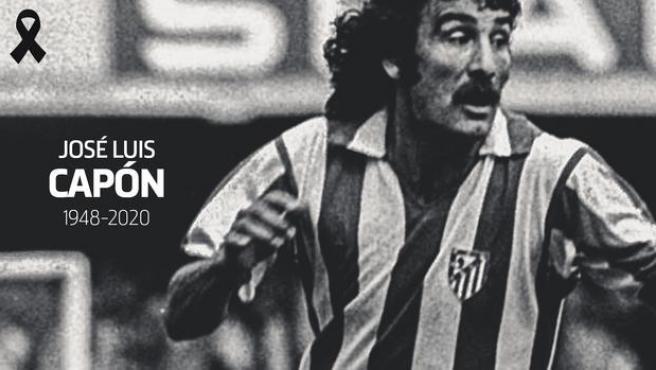 José Luis Capón, exjugador del Atlético de Madrid.