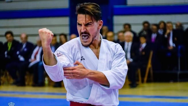 Damián Quintero, karateca.