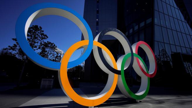 El símbolo más representativo de los Juegos: los aros.