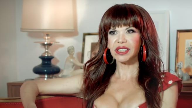 Cristina Ortiz, la Veneno, en una entrevista en 2016.