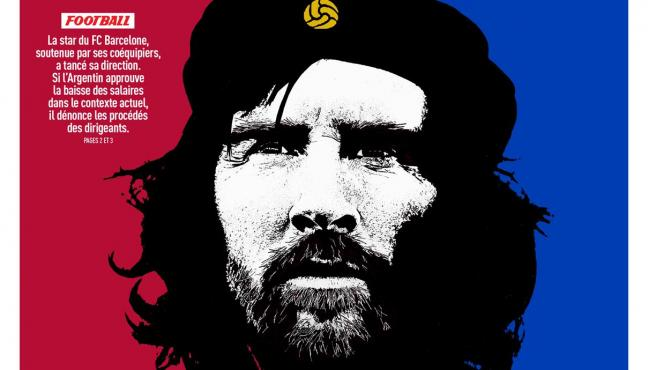 'El Che del Barça', la portada de L'Equipe