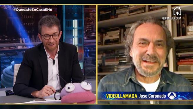 José Coronado, en 'El hormiguero: Quédate en casa'.