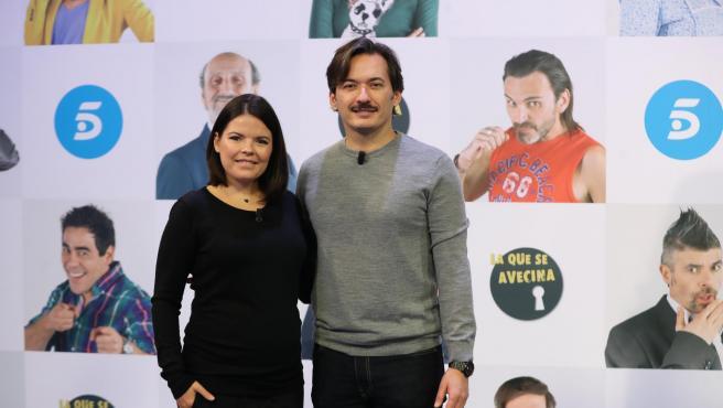 Los productores Alberto y Laura Caballero.