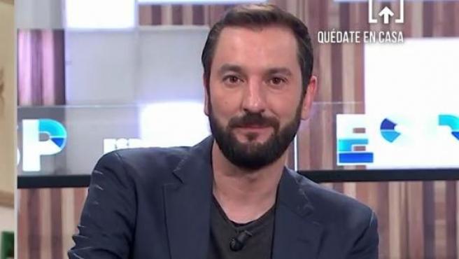 Diego Revuelta tertuliano de 'Espejo Público'.