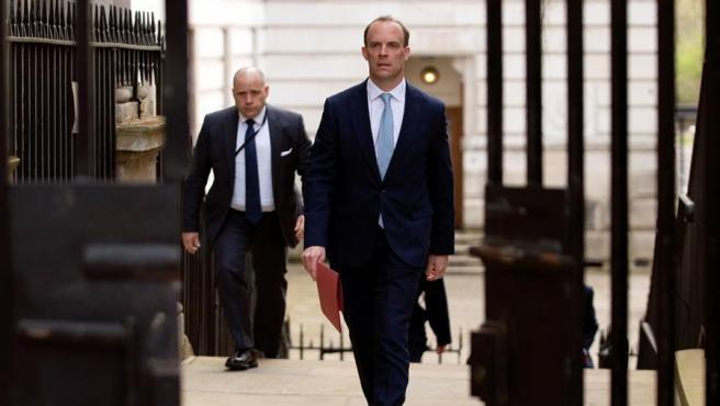 El ministro de Asuntos Exteriores de Reino Unido, Dominic Raab.