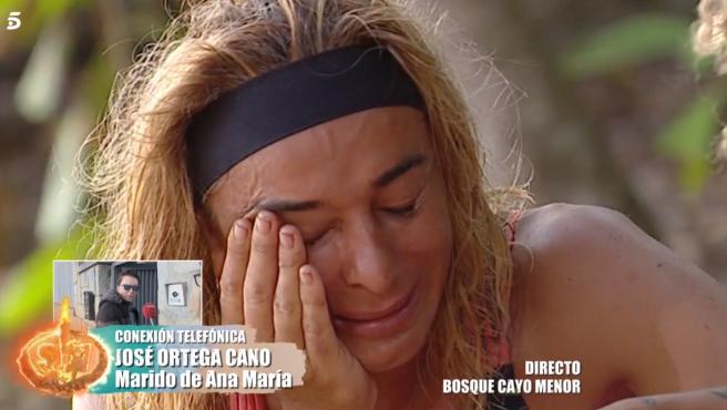 Ana María Aldón, en 'Supervivientes: Tierra de nadie'.