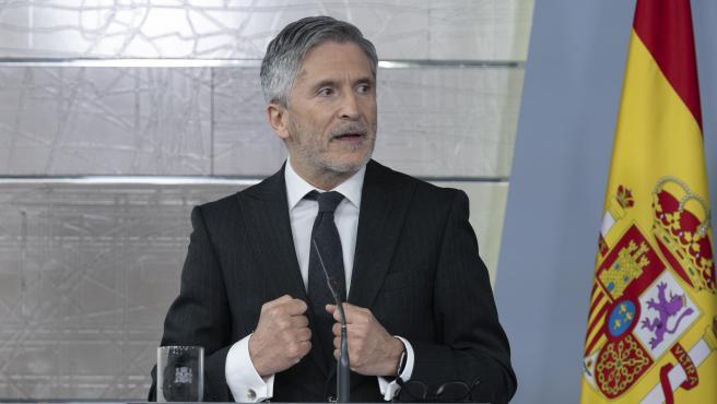 El ministro del Interior, Fernando Grande-Marlaska. Archivo.