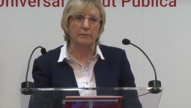 La consellera de Sanitat, Ana Barceló, en imatge d'arxiu