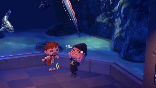 """Una pareja que se """"creó"""" en Tinder se encuentra en 'Animal Crossing: New Horizons'."""