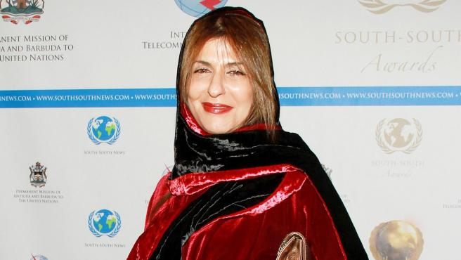 La princesa Basma bint Saud, en 2012.