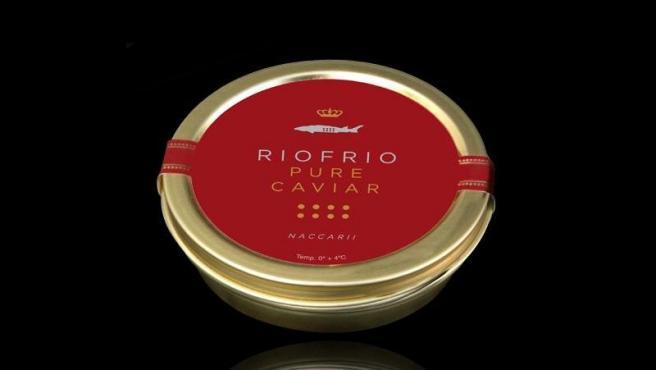 El envase de 500gr de caviar de Riofrío 1963 cuesta 1.025 euros.