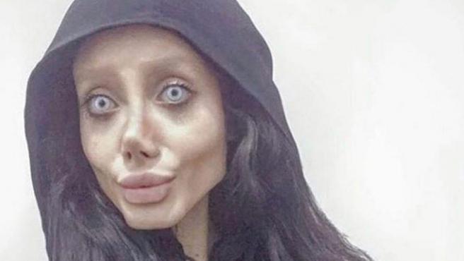 """Sahar Tabar entró en prisión en 2019 por """"blasfemia"""" y """"promover la corrupción""""."""