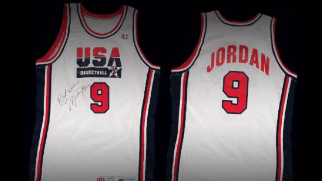 Camiseta de Michael Jordan en Barcelona '92