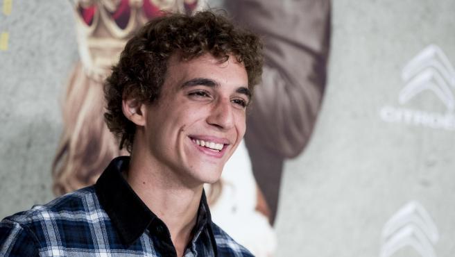 El actor Miguel Herran.