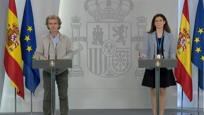 Fernando Simón y Raquel Yotti comparecen el 27 de abril.