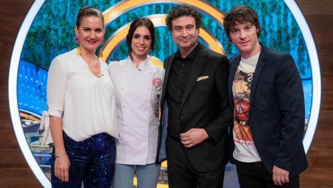 Elena Furiase, invitada en 'MasterChef'.