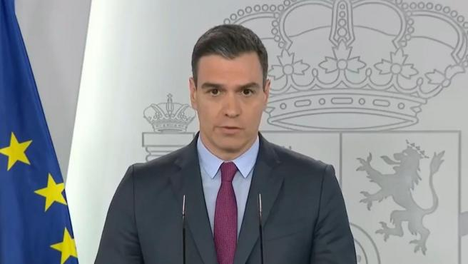 Pedro Sánchez comparece en rueda de prensa para explicar las primeras medidas de desconfinamiento