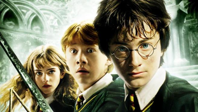 Portada de la película 'Harry Potter y la cámara secreta'.