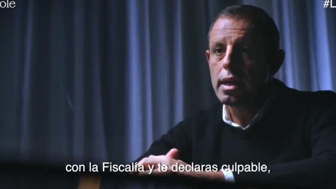 Rosell responde a las preguntas de Jordi Évole.