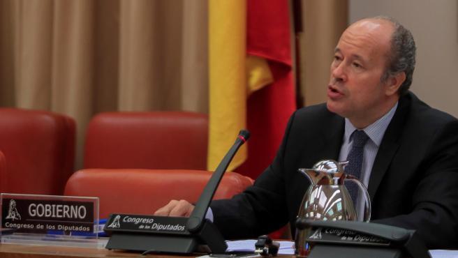 Juan Carlos Campo comparece ante la comisión de Justicia