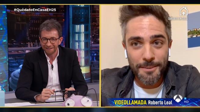 Roberto Leal, en 'El hormiguero: Quédate en casa'.