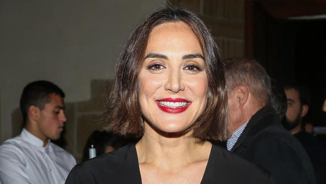 Tamara Falcó, en una entrega de premios el pasado febrero.