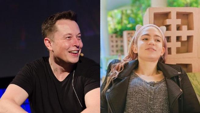 Elon Musk y Grimes, en imágenes de archivo.
