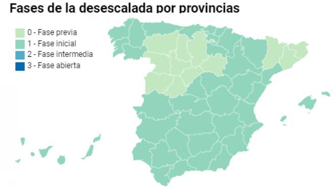 Mapa por provincias