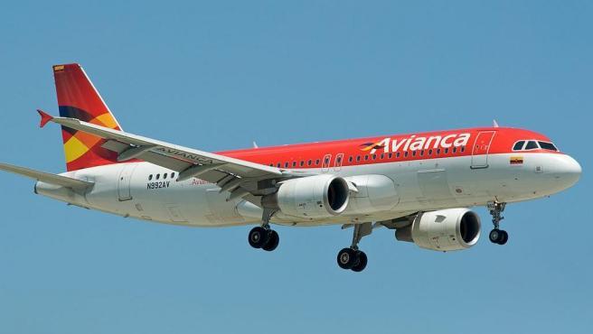 Un avión de la aerolínea colombiana Avianca, en una imagen de archivo.