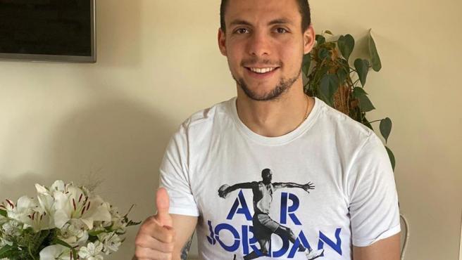 El centrocampista del Valladolid Óscar Plano.