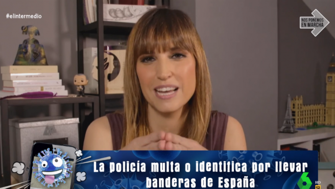 Sandra Sabatés, en 'El intermedio'.