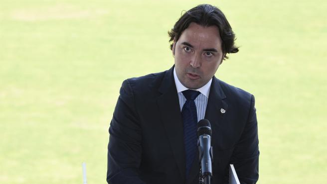 Raúl Martín Presa, presidente del Rayo Vallecano