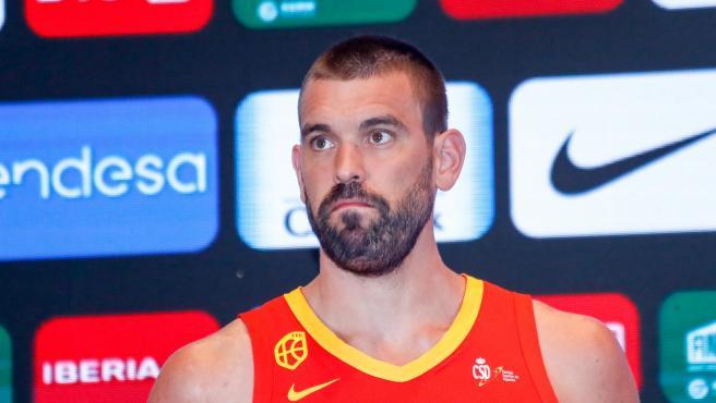 El jugador de baloncesto Marc Gasol.