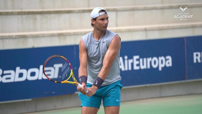 """Rafa Nadal: """"Estoy muy contento de volver a jugar a tenis"""""""