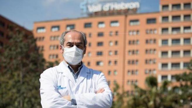 El doctor Benito Almirante, jefe del Servicio de Enfermedades Infecciosas de Vall d'Hebron.