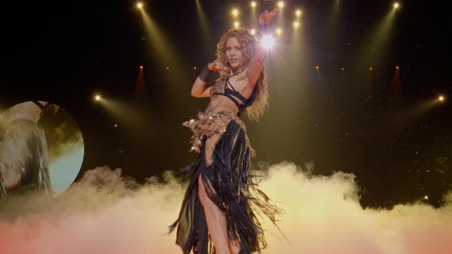 Shakira, en un concierto en Los Ángeles.